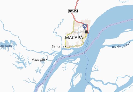 Santana Map