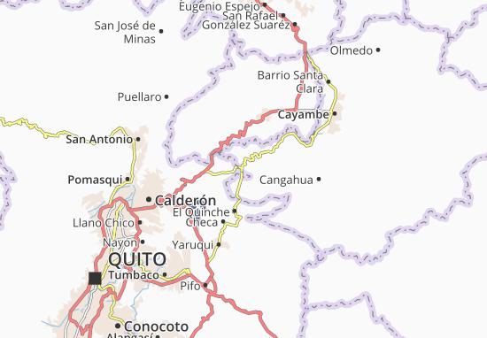 Santa Rosa de Cuzubamba Map