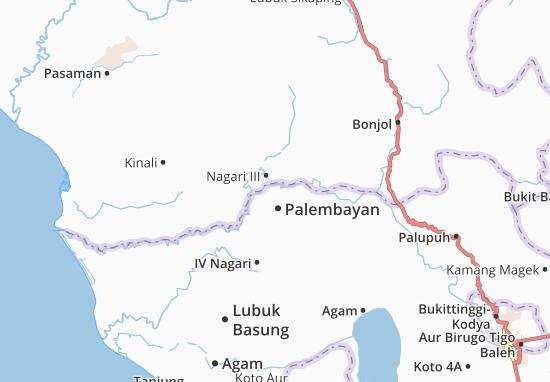 Carte-Plan Palembayan