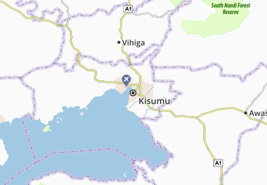 Mapa Plano Kisumu