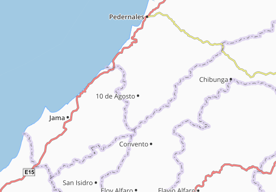 Mappe-Piantine 10 de Agosto
