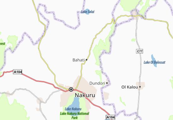 Mapas-Planos Bahati