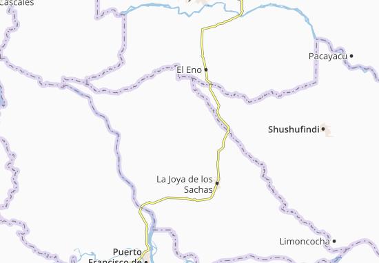 Tres de Noviembre Map