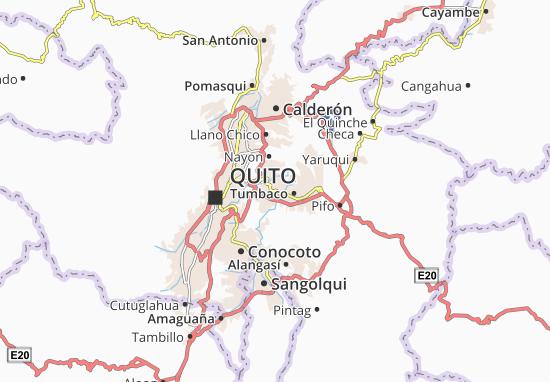 Mappe-Piantine Cumbaya