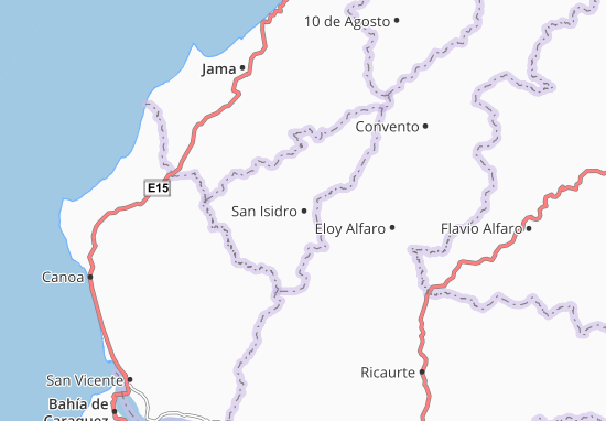 San Isidro Map