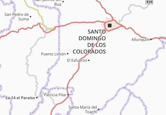Luz de América Map