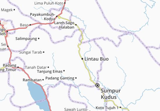 Lintau Buo Map