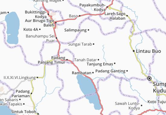 Carte-Plan Pariangan