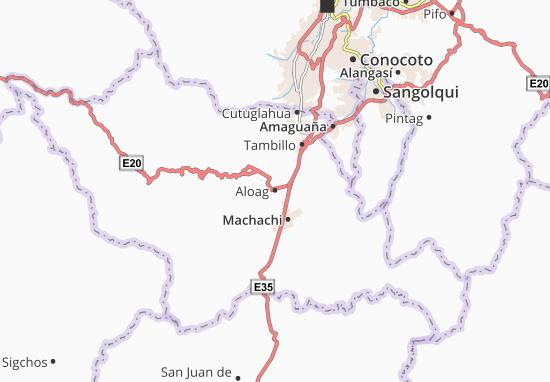 Aloag Map