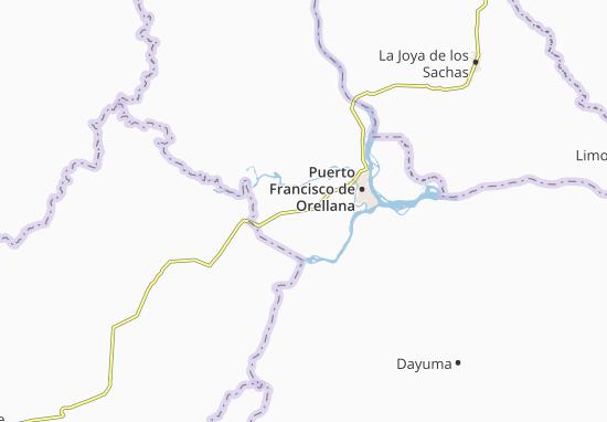 San Luis de Armenia Map