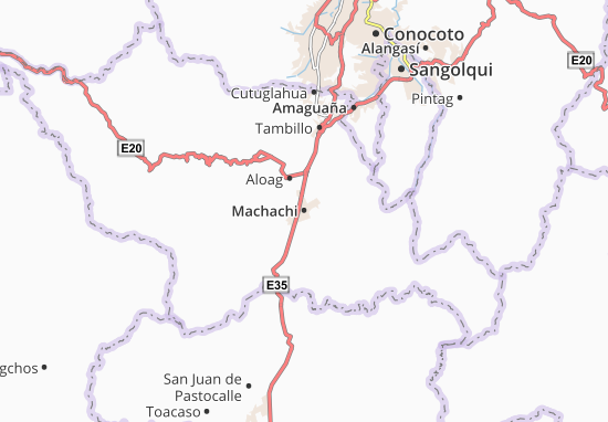 Machachi Map