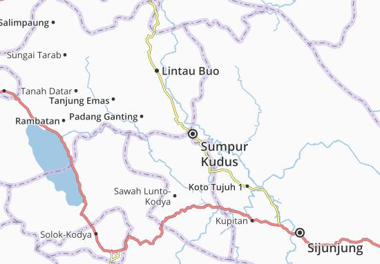 Kaart Plattegrond Sumpur Kudus