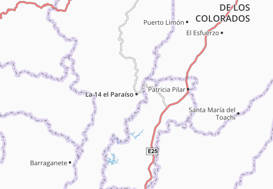 Mappe-Piantine La 14 el Paraíso