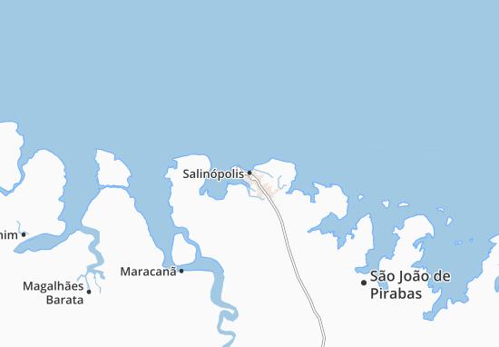 Mapas-Planos Salinópolis