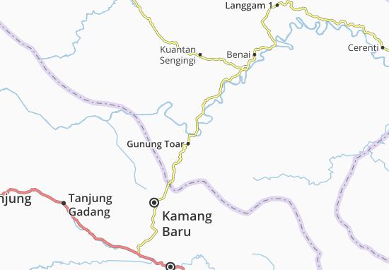 Gunung Toar Map
