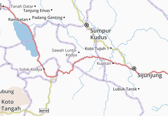 Kaart Plattegrond Lembah Segar