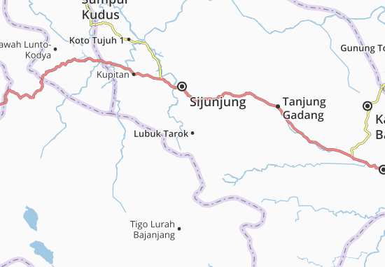 Lubuk Tarok Map