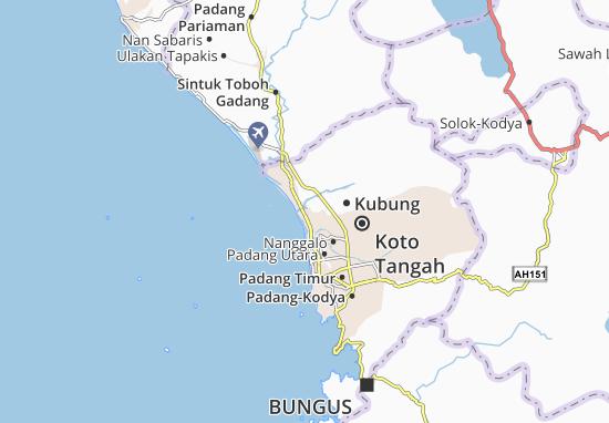 Kaart Plattegrond Kubung