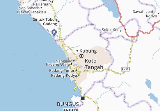 Mappe-Piantine Koto Tangah
