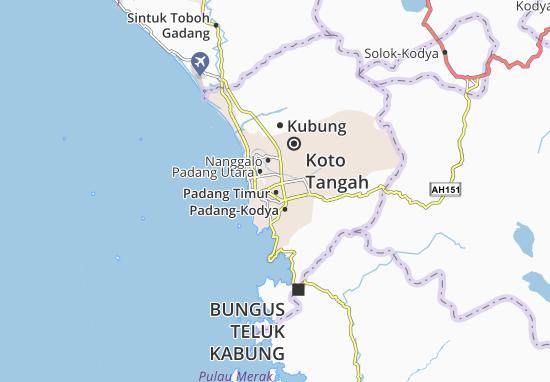Mapas-Planos Padang Timur