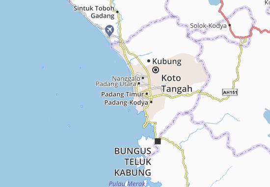 Carte-Plan Padang Barat