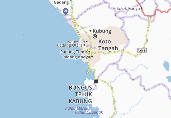 Padang Selatan Map