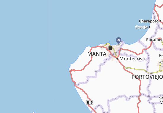 Karte Stadtplan Santa Marianita