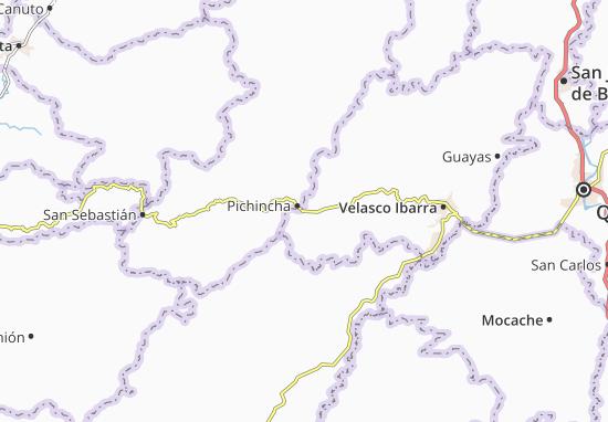 El Rosario Map
