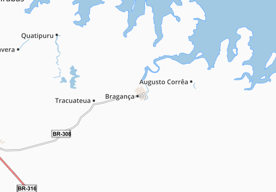 Bragança Map