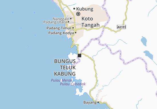 Mapas-Planos Bungus Teluk Kabung
