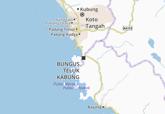 Mappe-Piantine Bungus Teluk Kabung