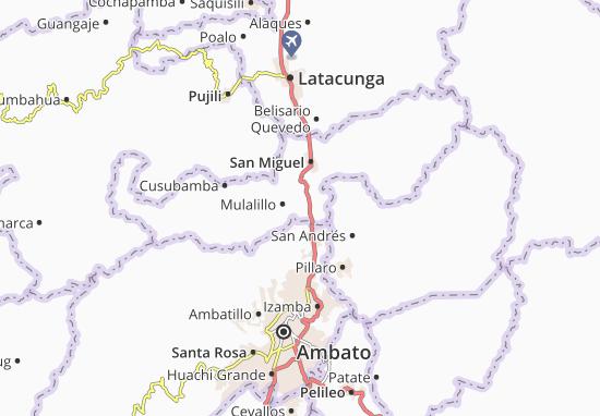 Antonio José Holguin Map