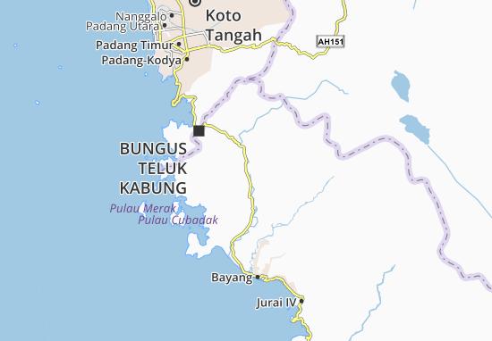 Koto XI Tarusan Map