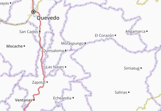 Carte-Plan San Luis de Pambil
