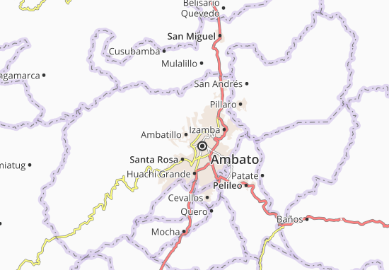 Mapas-Planos San Bartolomé de Pinllog