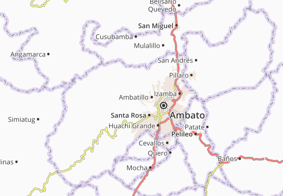 Quisapincha Map