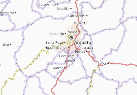Mappe-Piantine Huachi Grande