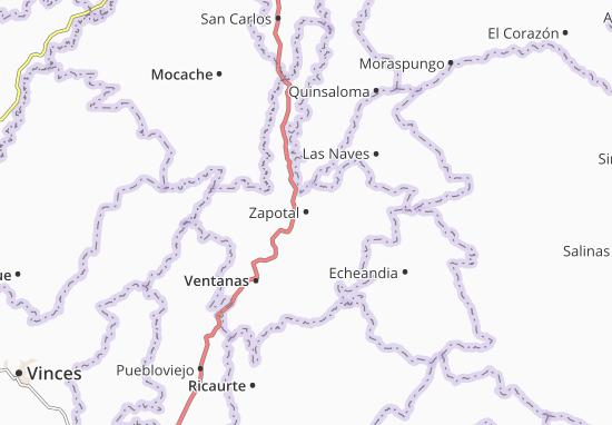Zapotal Map