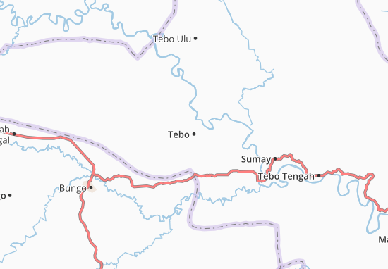 Mapas-Planos Tebo