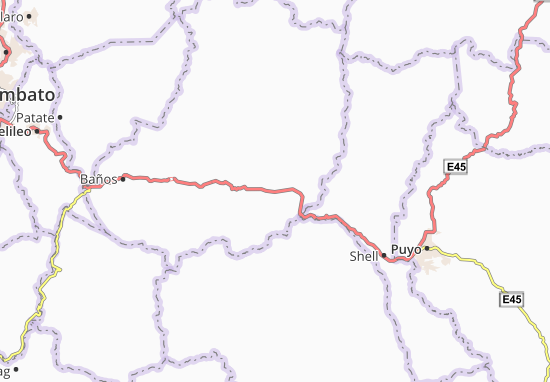 Kaart Plattegrond Río Negro