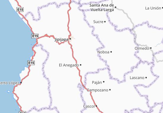América Map