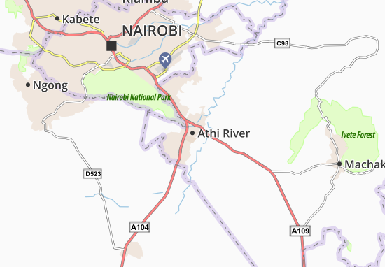 Mappe-Piantine Athi River