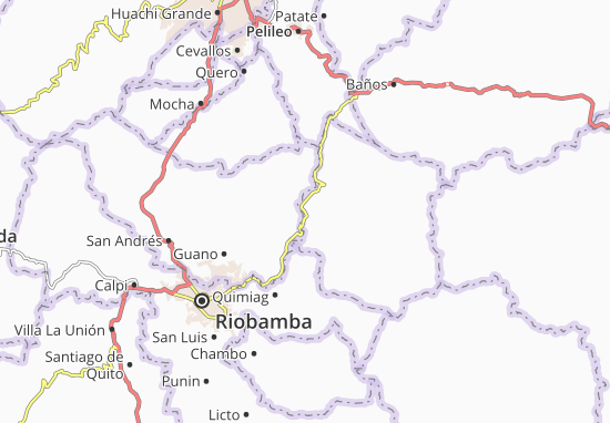 Guanando Map