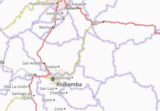 San José del Chazo Map