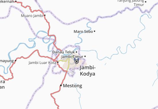 Kaart Plattegrond Pelayangan