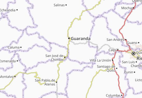 Carte-Plan San Simón