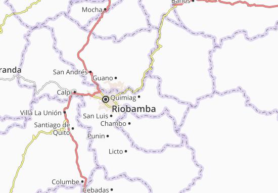Quimiag Map