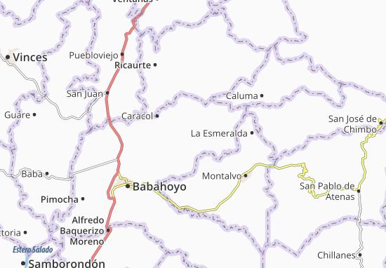 La Unión Map