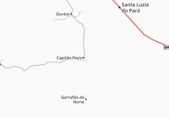 Mappe-Piantine Capitão Poço
