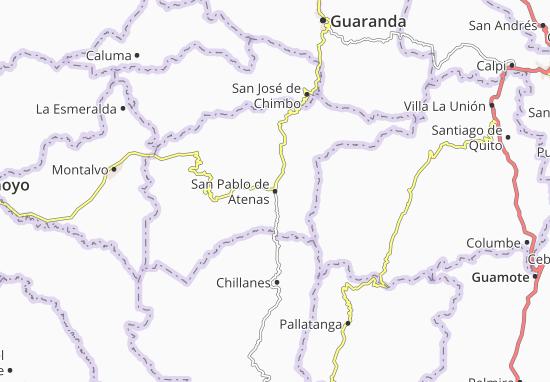 San Pablo de Atenas Map